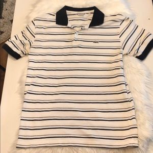 Lacoste polos shirt Size 6